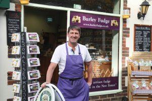 Burley Fudge Shop Front